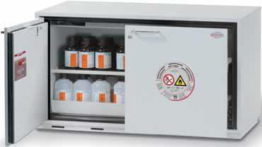 VBF.60.110-A - Width 1 100 mm, wing doors + drawer