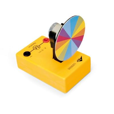 Newton's Colour Disc, with DC Motor