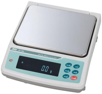 Váha A&D série GF-K - přesné váhy s vnější kalibrací a krytím IP65