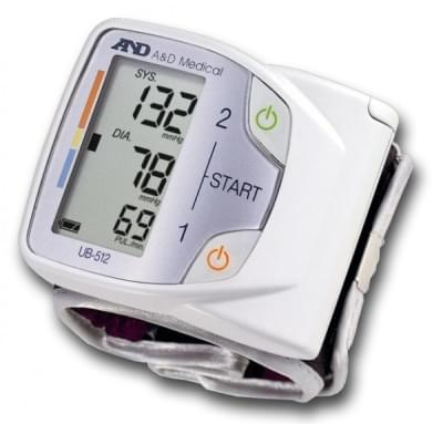 UB-512 - Wrist Blood Pressure Monitor
