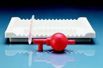 Podnos hluboký na pipety, PVC