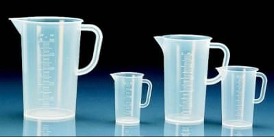 Measuring cup with spout 3 000 ml, transparent