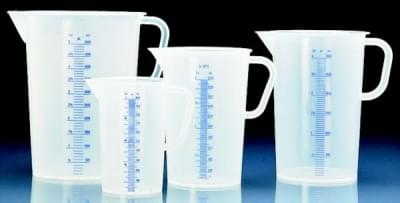 Measuring cup with spout 5 000 ml, transparent
