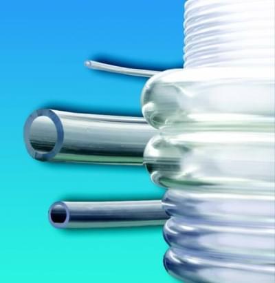 Soft PVC tubing, transparent, safe, inner diameter 8 mm - 8 x 12