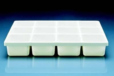 Divided by twelve-tray, PVC, 410 x 300 x 65 mm