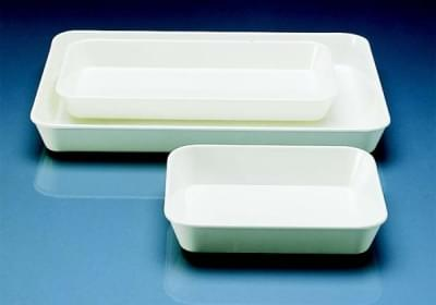 The tray of instruments 340 × 245 × 100 mm MF, white