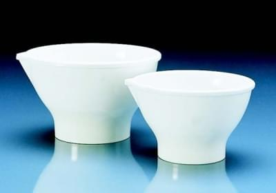 Bowl friction, MF, smooth, white with spout, 500 ml