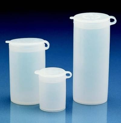 Nádoba na vzorky, LDPE, těsně zapadající výklopné víčko, 50 ml - 50 ml
