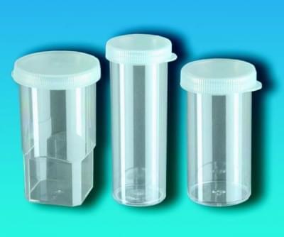Nádoba na vzorky s víčkem, PS, Analyzátory - Al® a Linson®, 20 ml