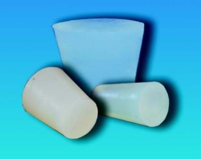 Zátka silikonová, kónická, pro teploty  -60…+220 °C, horní průměr 12 mm, dolní průměr 8 mm - 8/12