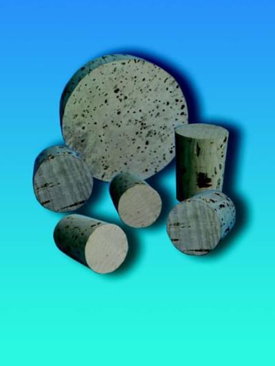 Zátka korková, kónická, horní průměr 24 mm, dolní průměr 21 mm, výška 27 mm - 21/24