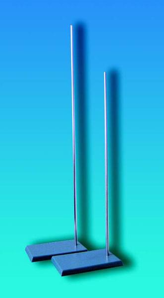 Stojan laboratorní s kovovou deskou a šroubovací tyčí, délka tyče 750 mm - 750 mm