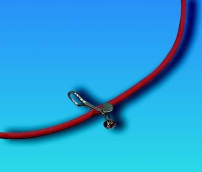 Tlačka hadicová Mohrova, délka 60 mm - délka 60 mm