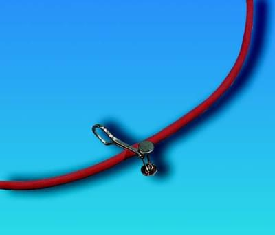 Tlačka hadicová Mohrova, délka 80 mm - délka 80 mm