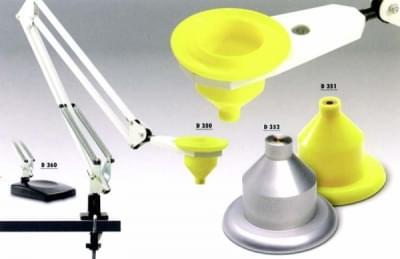 Stojánek – pantograf s plastovou svěrkou - Stojánek – pantograf s plastovou svěrkou