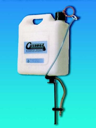 Dávkovač chlóru CHLOROZ - pro kontinuální dávkování kapalin, 5 litrů