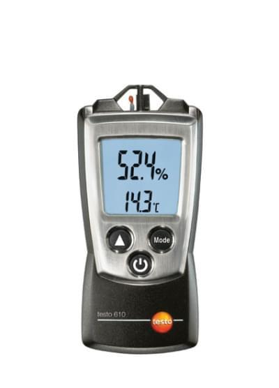 Testo 610 - Hygrometer / thermometer