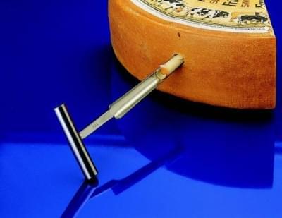 Vrták QualiRod kónický, na pasty, sýry, vazelíny, vosk, hloubka vrtání 170 mm - 170