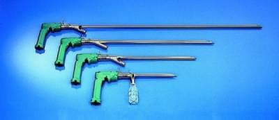 PowderProof® pro sypké materiály, vertikální, délka 90 cm, zrnitost 2 - 4 mm