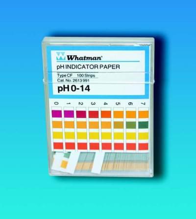 Indikátorové papírky WHATMAN, pH 3,8 - 5,5, Typ - CS