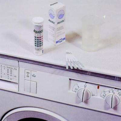 Proužky testovací AQUADUR - pro stanovení tvrdosti vody, dělení 0
