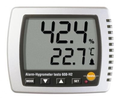 Testo 608-H2 - Vlhkoměr s teploměrem s LED alarmem