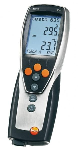 Testo 635-1 - Hygrometer with thermometer with huge choice of porbes
