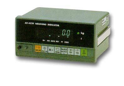 AD-4329 EC - Weighing Indicator