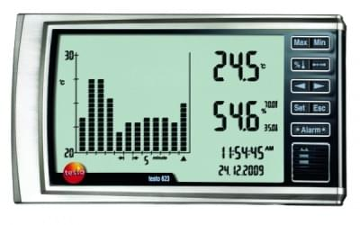 Testo 623 - Hygrometer with history function