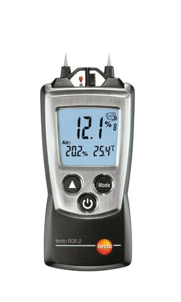 Testo 606 - Measurer for measuring wood and materials moisture