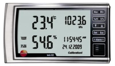 Testo 622 - Hygrometer with pressure display