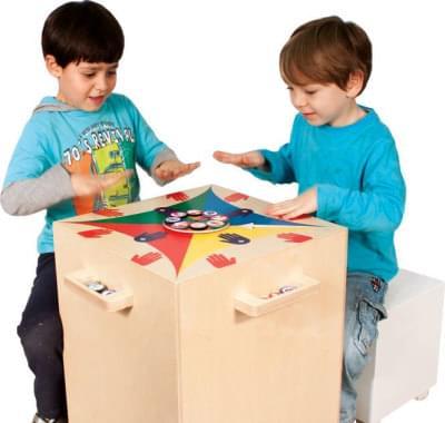 Funtable 2v1 - dětský stolek a hudební hra v jednom