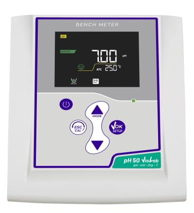 pH 50 VioLab DHS with pH electrode CHS Chemflex NTC30