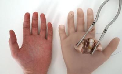HANDACT - Hand surgery simulator