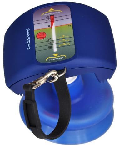 Kardio pumpa se zvukovou signalizací