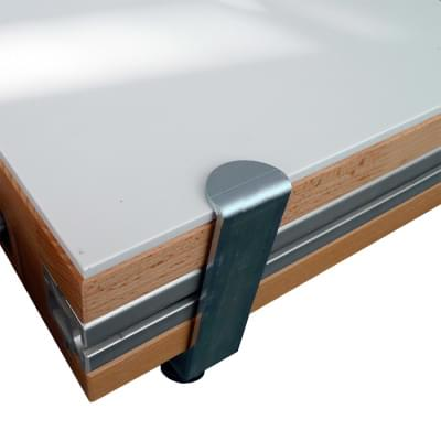 The cover plate on the desktop - 1500 × 650 × 6 mm