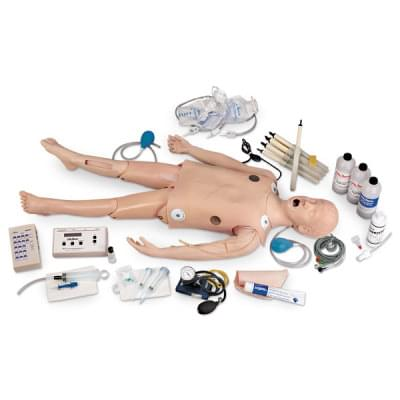 LF03617 - Deluxe Child Manikin with ECG Simulator