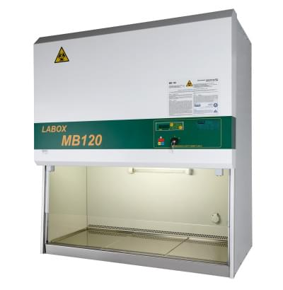 MB 120 - Laminar box biohazard