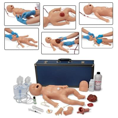 LF01400 - Life/form® Newborn Nursing Skills and ALS Simulator