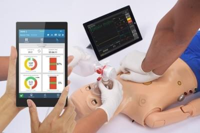 S300.105.250.PK.L - Code Blue® III Pediatric with OMNI® 2 Advanced Life Support Training Simulator