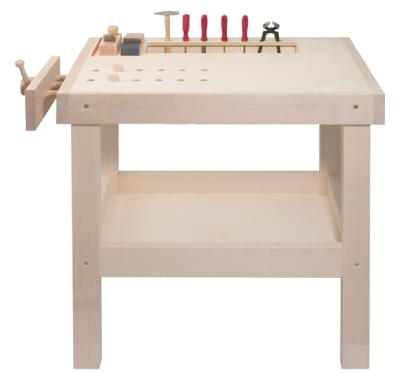 Workbench for small craftsmen