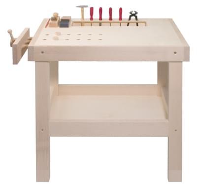 Workbench for small craftsmen