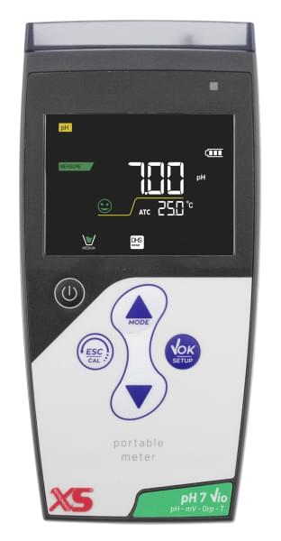 pH 7 Vio with CHS Chemflex sensor with temp.probe NTC30