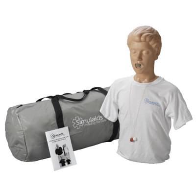 PP01602 - Figurína dospělého pro nácvik odstraňování cizích předmětů z dýchacích cest