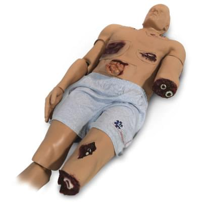 808-6000 - Trauma Randy Upgrade Flash Moulage - Overlay Flash Moulage