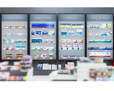 Rowa Vmotion - New way of presenting OTC products in pharmacies