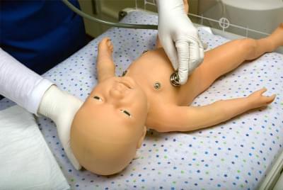 S2210 - Tetherless and Wireless Full-term Neonatal Simulator