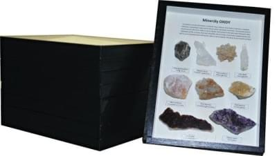 Collection of Minerals - (5 boxes)