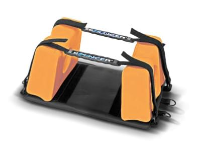 Super Blue - compact universal head immobilizer (orange)