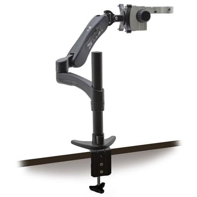 SZ-STL5 - Industrial stand, with table clamp and holder for wall mount.
